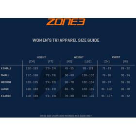 Zone3 Aquaflo+ Traje Triatlón Manga Corta Mujer, black/grey/mint